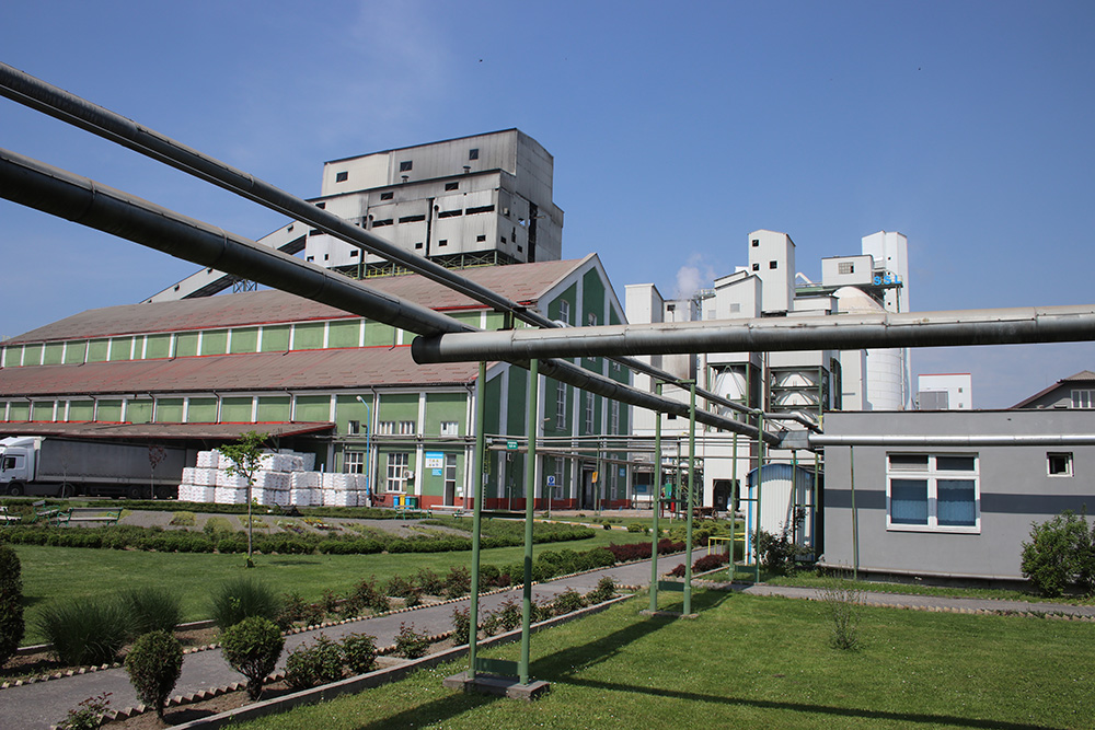 Soda Herstellung Fabrik