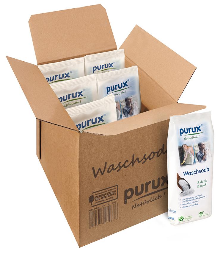 purux Waschsoda 6er Pack
